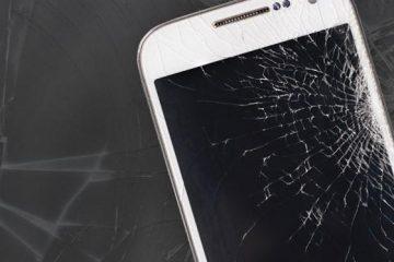 Smartphone-pecah