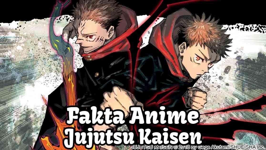 fakta anime jujutsu kaisen